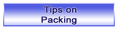 Tips on Packing